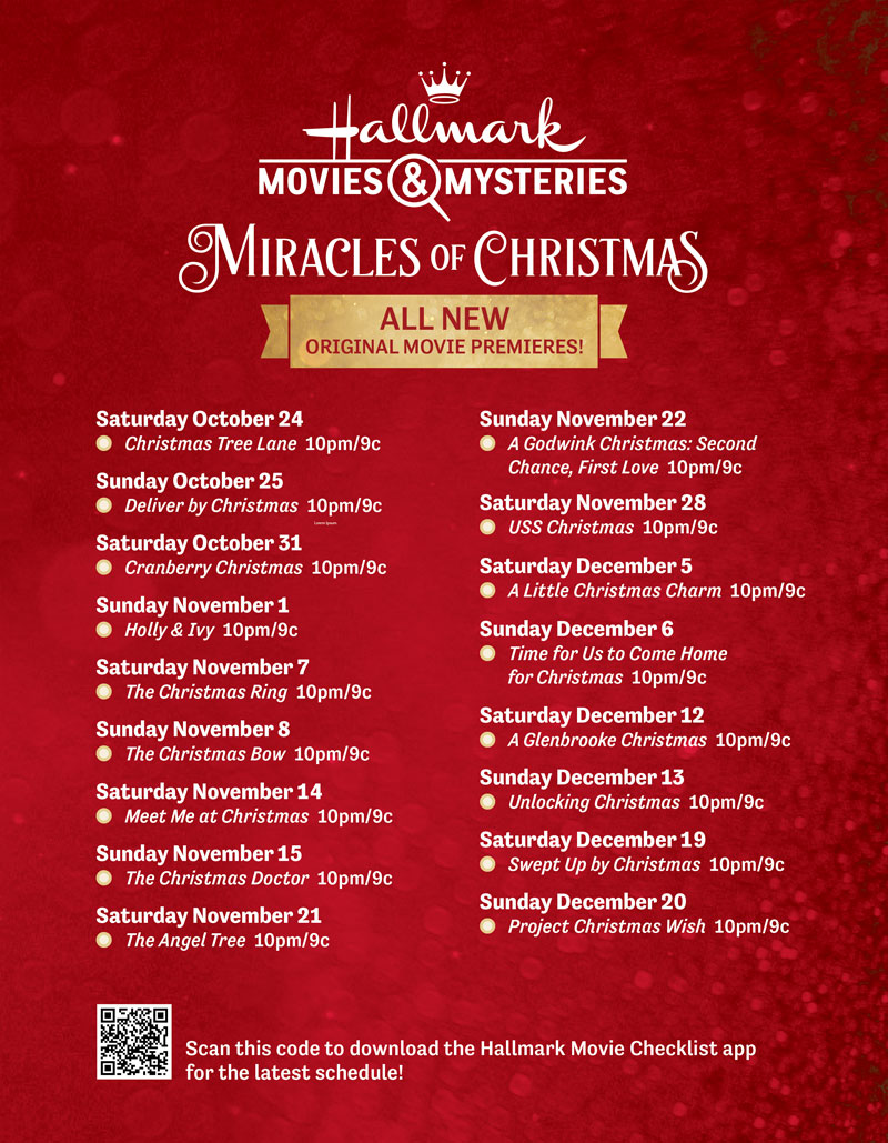 moviesandmysteries Christmas 2020 New Movies   Miracles of Christmas 2020