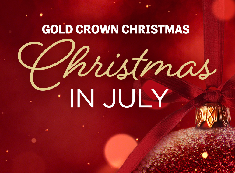 Christmas In July 2020 Why Christmas in July   Gold Crown Christmas