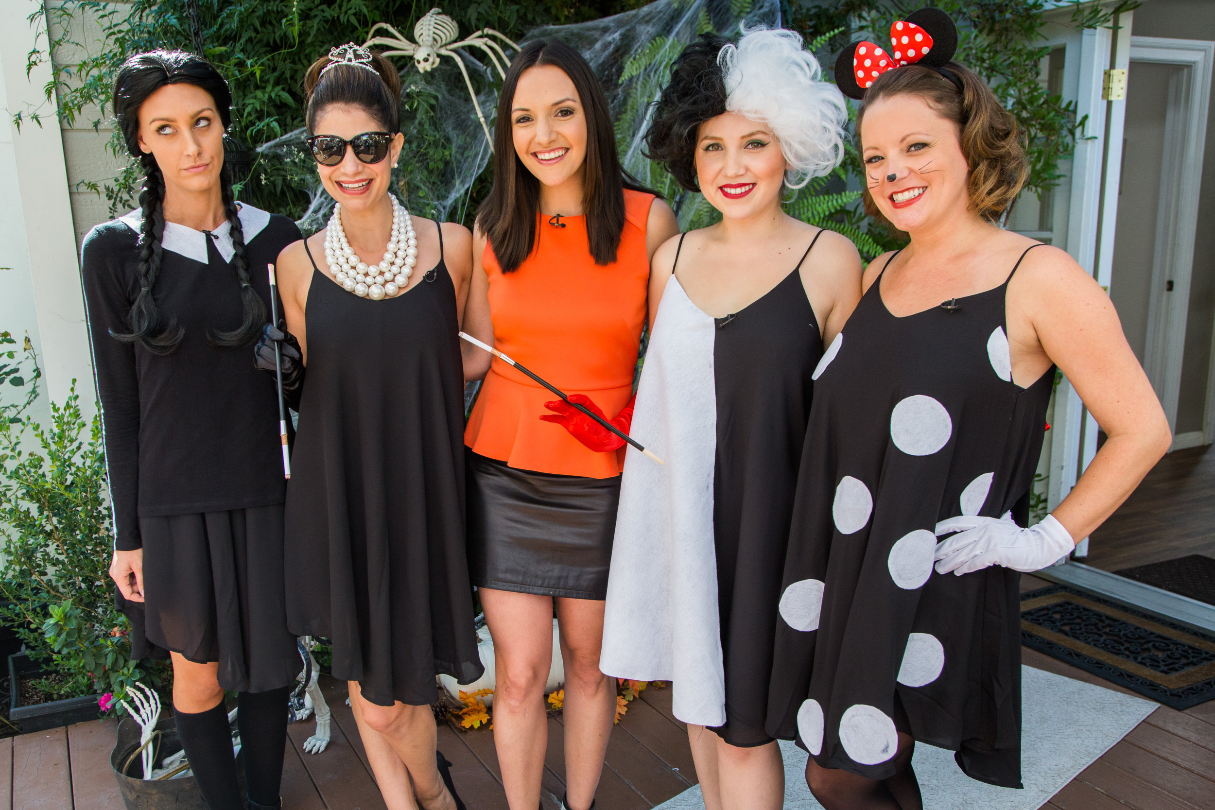 Four Costume Ideas with One Little Black Dress - Home & Family - Video