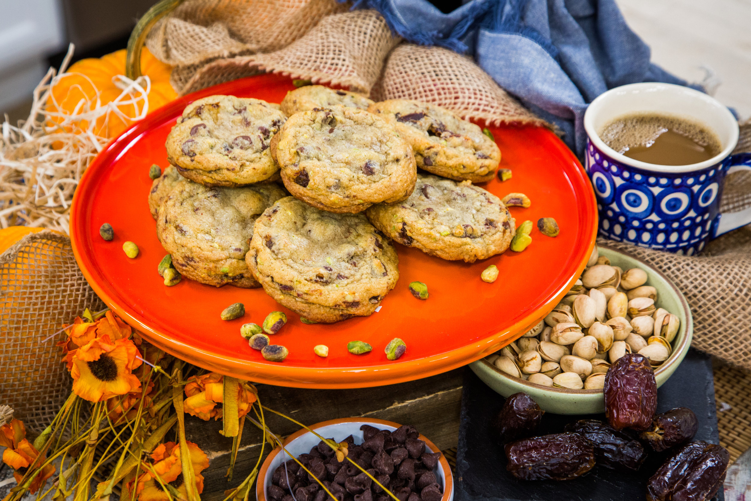 Recipe Pistachio Chocolate Chip Cookies Home Family