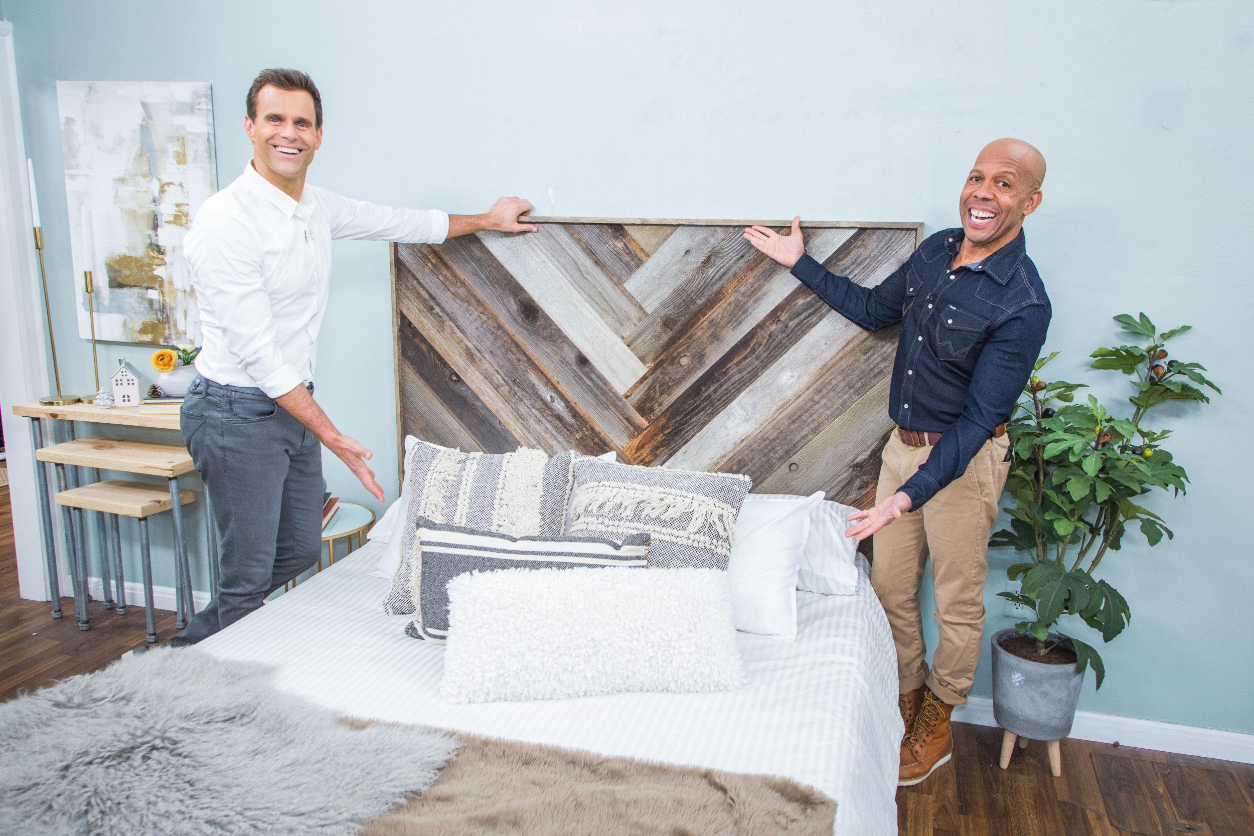 Diy Recycled Wood Headboard Home Family