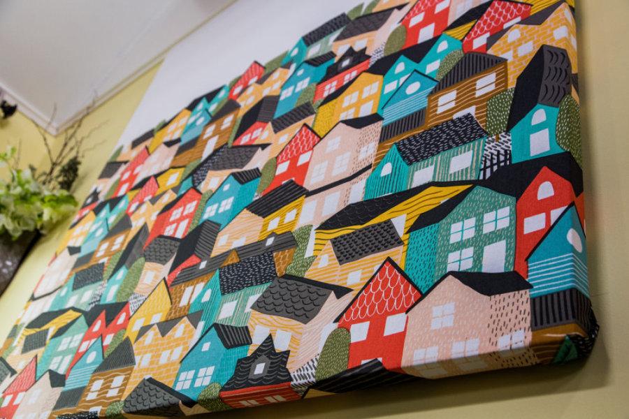 Ken Wingard S Diy Shower Curtain Wall Art Video Home Family