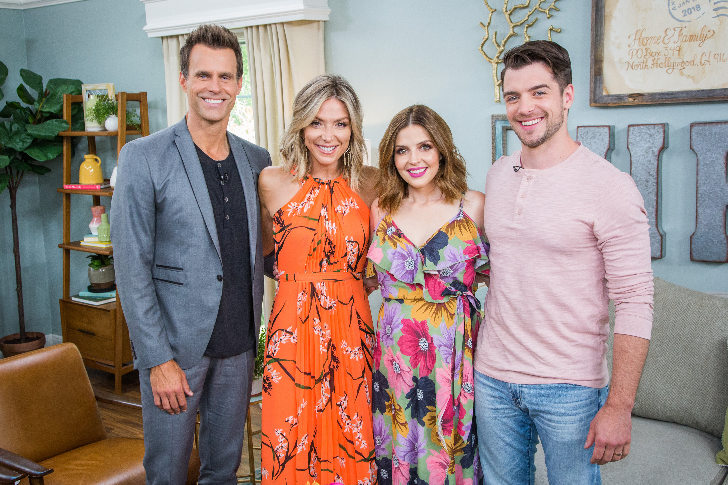 Jen Lilley And Dan Jeannotte Home Family Video