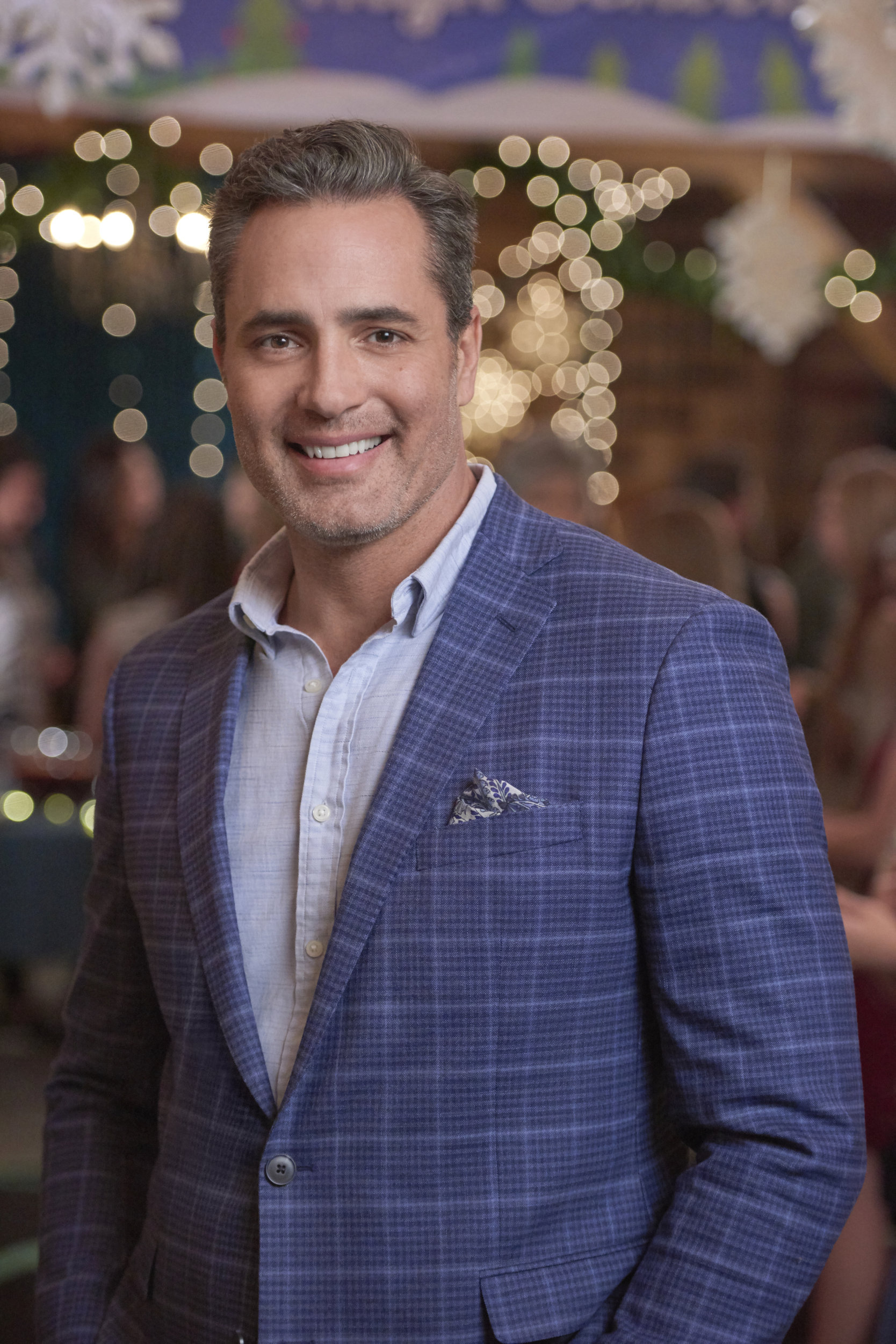 Homegrown Christmas 2020 Victor Webster as Carter on Homegrown Christmas