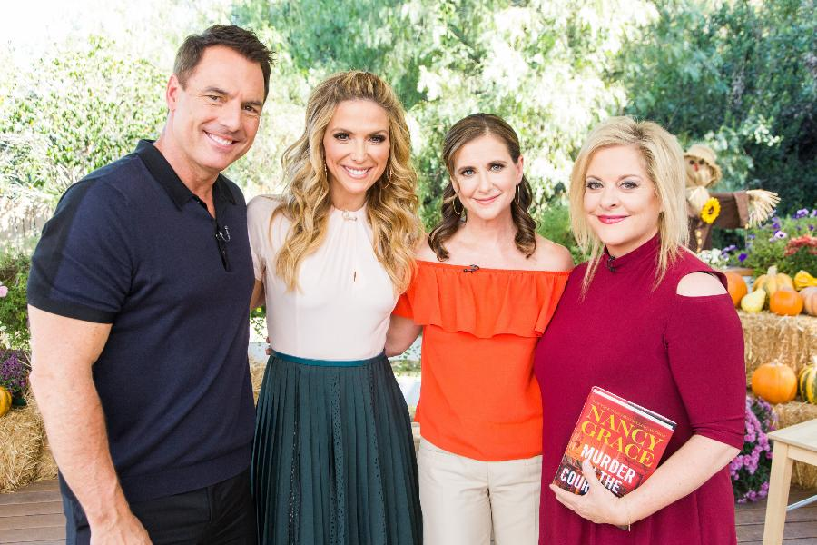 Interview Nancy Grace And Kellie Martin Home Family