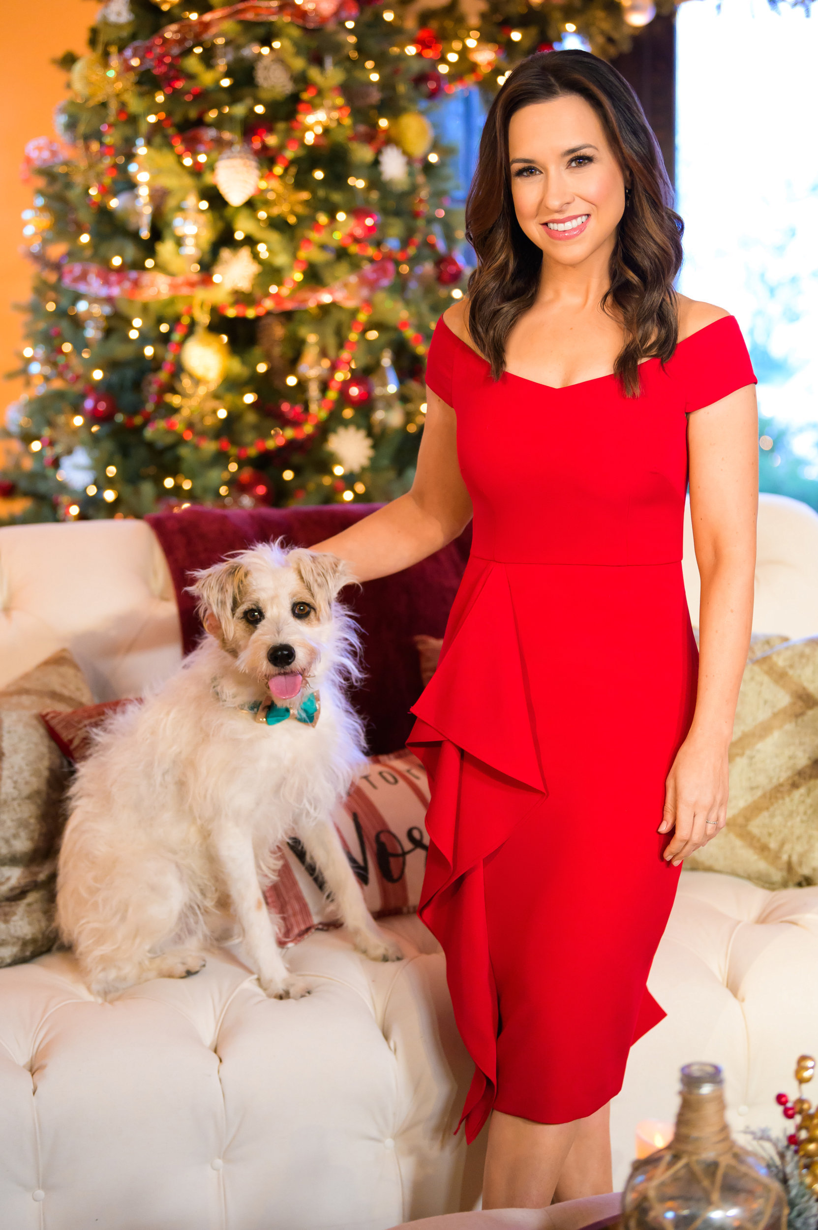 Lacey Chabert on Hallmark Channel's Christmas Concert