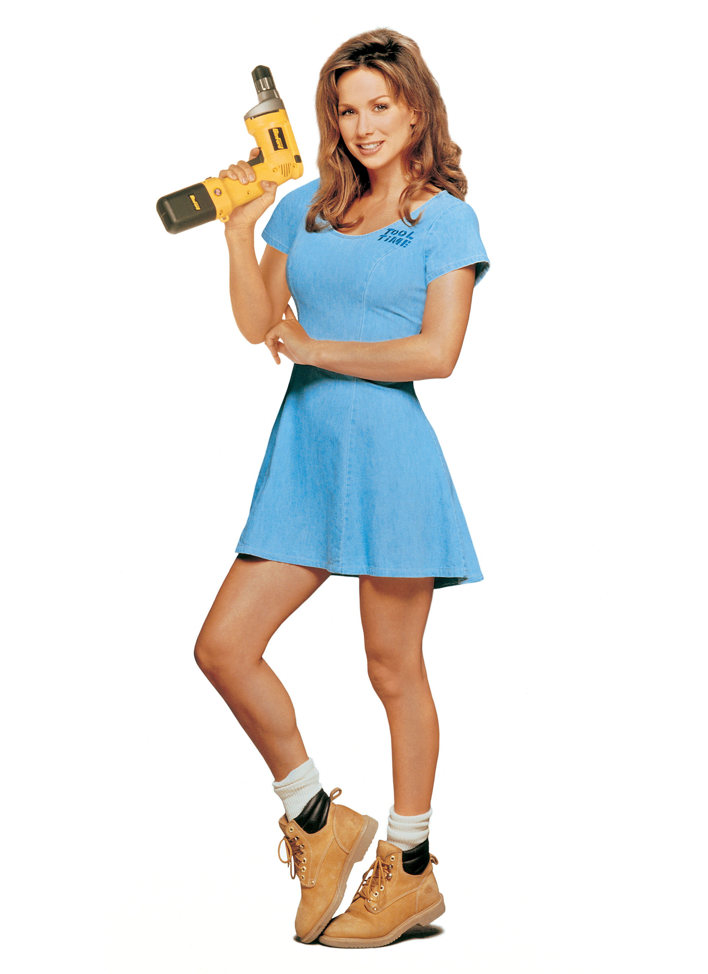 Debbe Dunning As Heidi The Tool Time Girl On Home Improvement