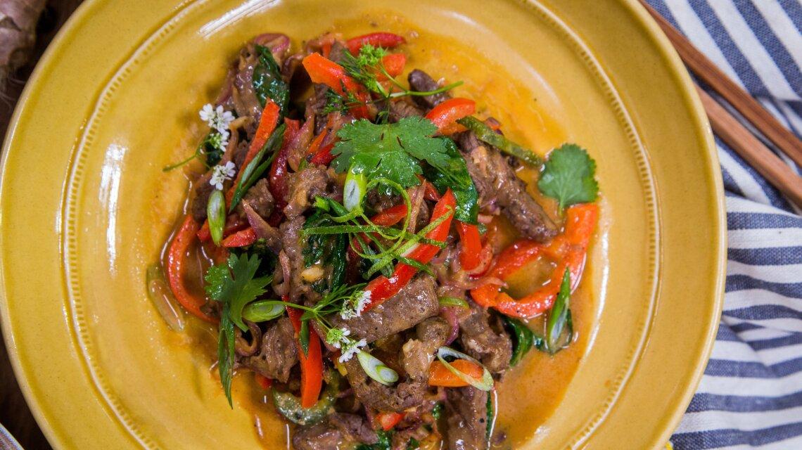 Spicy Beef & Pepper Stir-Fry