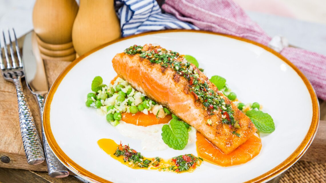 David LeFevre - Winter Citrus Salmon