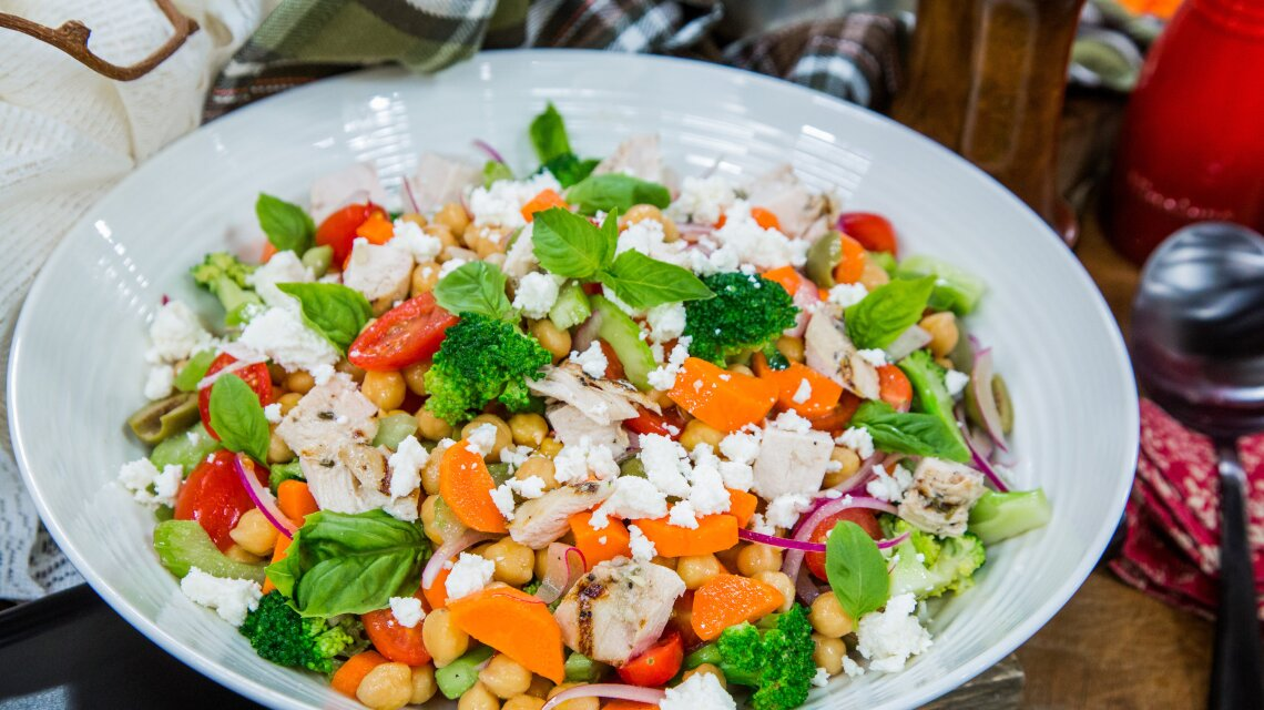 """""""Impasta"""" Salad"""