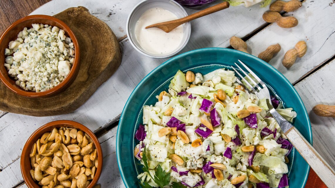 Summer Salad with Cabbage