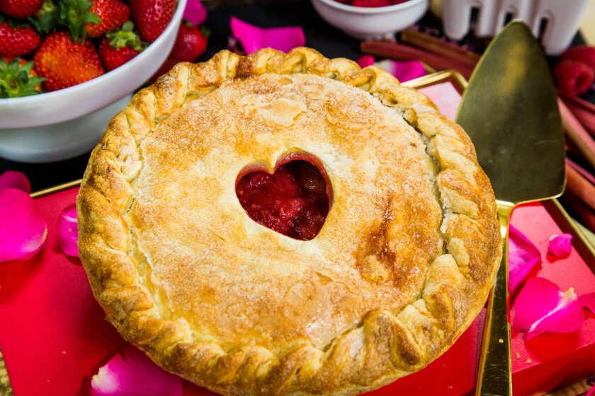 Valerie Gordon's Valentine Pie Recipe