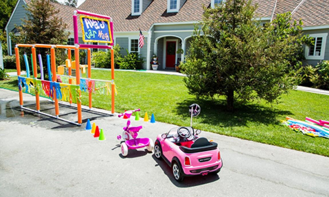 Tanya Memme's DIY Kiddie Car Wash