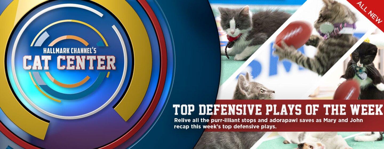 Cat Center – Week 9 – This Week's Top Defensive Plays