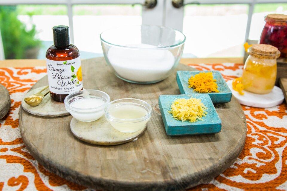 DIY Face Wash and Citrus Blossom Scrub