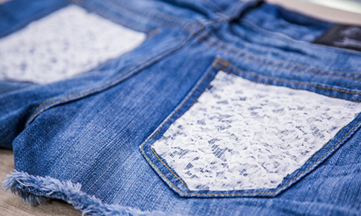 Jessie Jane's DIY Lace Shorts