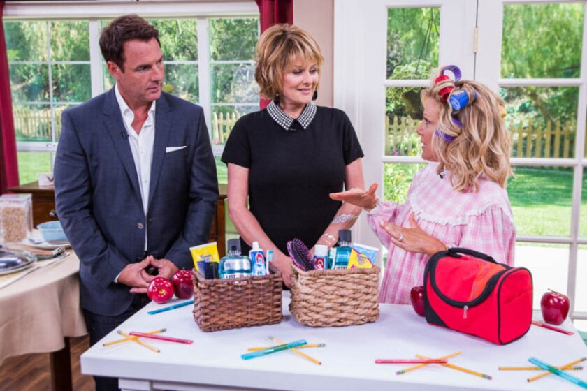 "Mark Steines and Cristina Ferrare talk with the Judges of the new courtroom show ""Hot Bench"", about how three Judges are better than one.  Actor, Nathan Gamble shares stories about his animal co-stars in his new family film, ""Dolphin Tale 2"".  Tanya Memme shares her daughters' first day at school as we discuss separation anxiety.  Host of ""Flip My Food"", Chef Jeff Henderson shares his amazing journey from felon to successful executive chef. Tech Expert, Rich DeMuro tells us what to expect with the new Apple iWatch and why wearable tech is the next big thing.  Take the stress out of the early morning rush to get the kids to school with Kym Douglas. Cristina kicks off Football season with Football shaped Whoopie Pies! Make your own ""tattoos"" using aluminum foil with Tanya Memme.  Then, Dr. J.J. Levenstein and Debbie Matenopoulos give us an update on Debbie's pregnancy and what to expect as she enters the home stretch."