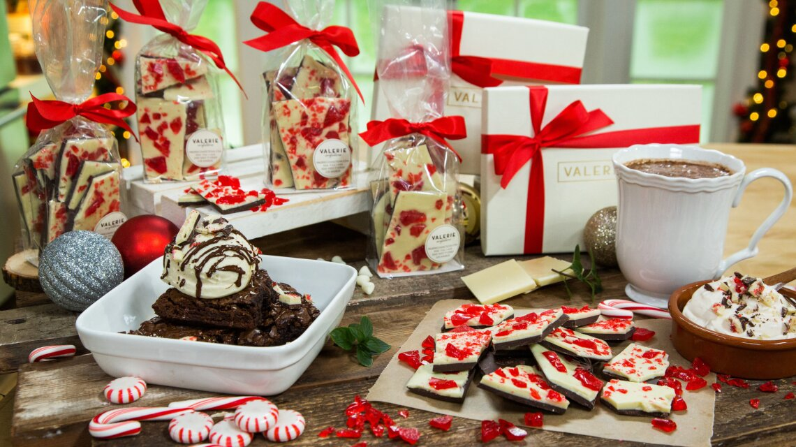 Peppermint Bark and Peppermint Candy