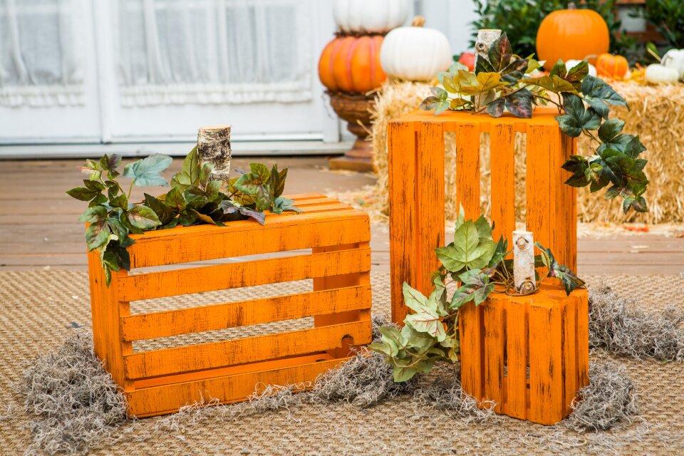 DIY Pumpkin Crates