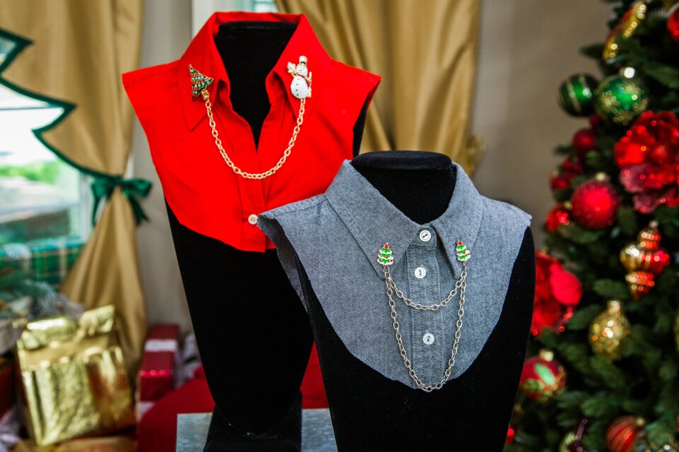 DIY Christmas Sweater Clips