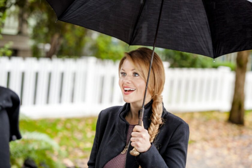 "Candace Cameron Bure stars in the Hallmark Movies & Mysteries original movie, ""A Bone to Pick: An Aurora Teagarden Mystery"""