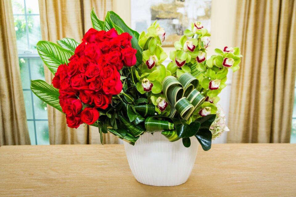Valentine's Day Floral Arrangement