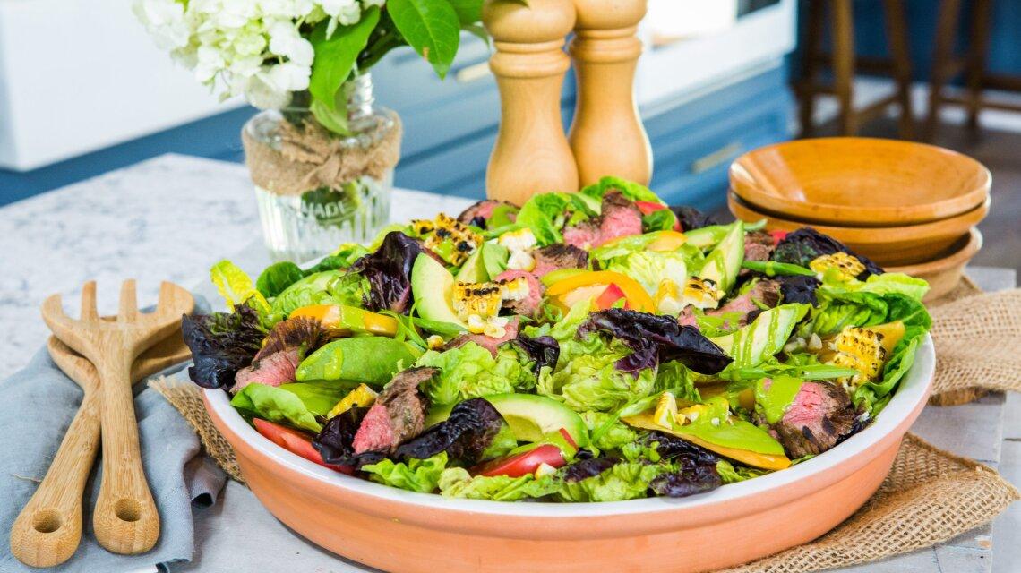 Gaby Dalkin - Loaded Grilled Steak Salad