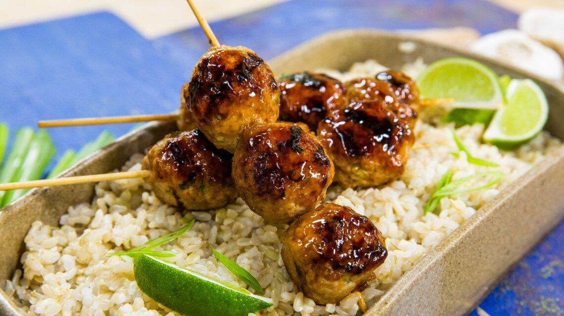 Yakitori Chicken Meatballs
