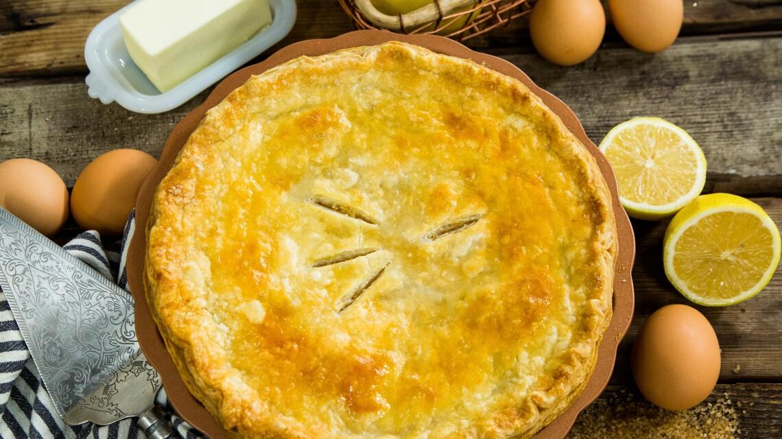 Rick Dees' Shaker Lemon Pie
