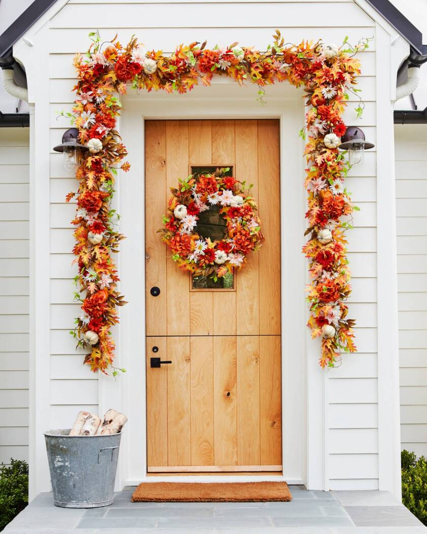 Fall Home Decorating with Balsam Hill - Outdoor Fall Foliage