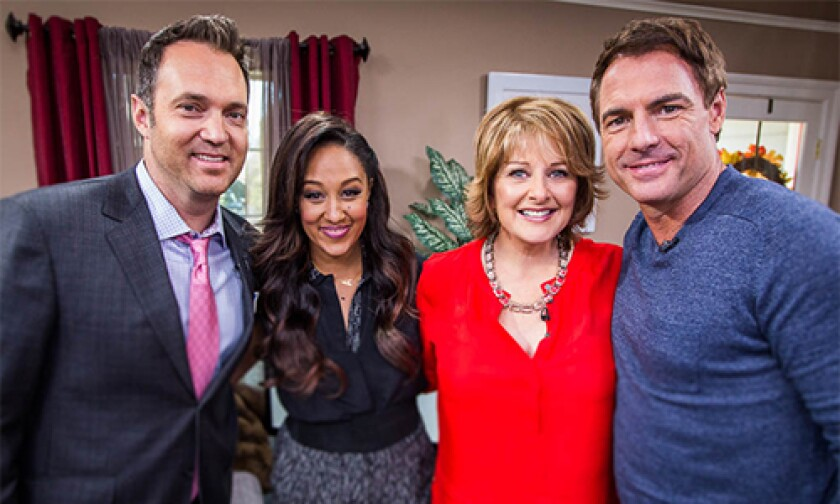 Today on Home & Family Monday, October 14th, 2013
