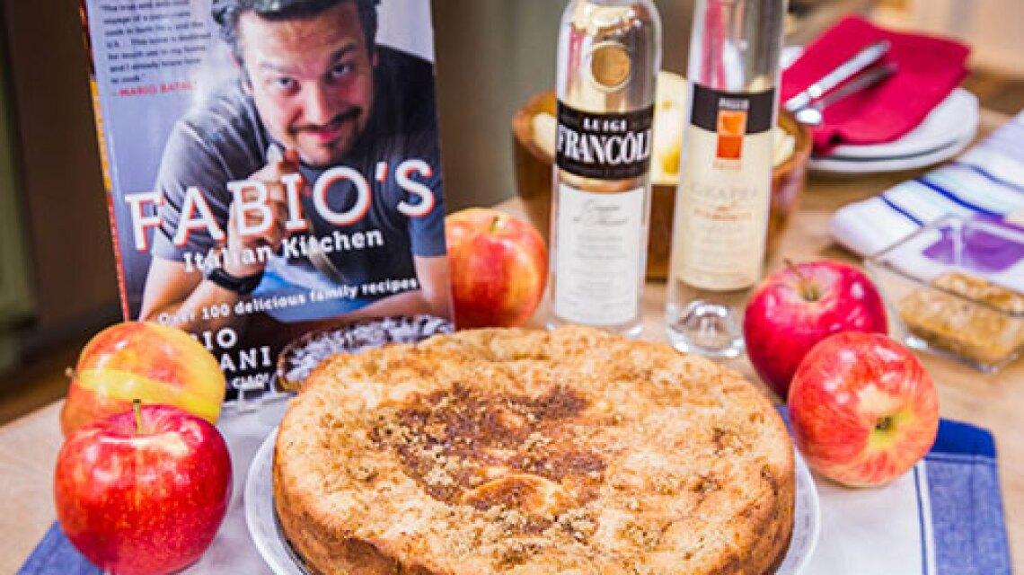 Fabio Viviani's Apple Cake With Grappa