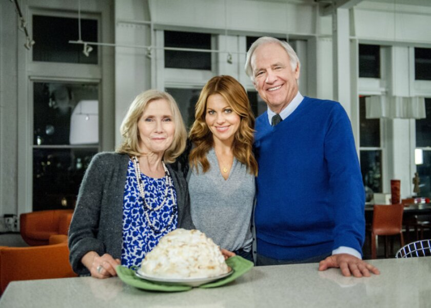 """Candace Cameron Bure stars in the Hallmark Channel original movie, """"Christmas Under Wraps"""""""