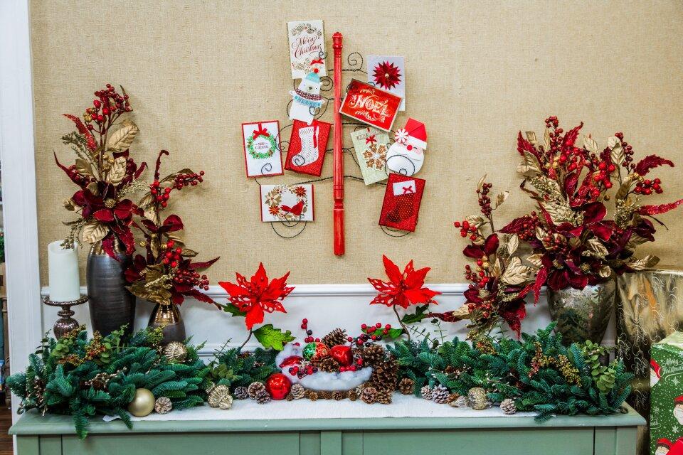 DIY Christmas Card Tree