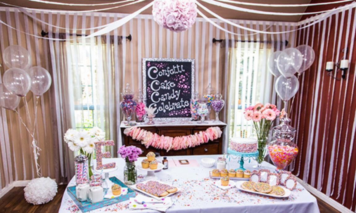 "Jessie Jane's ""How to Make a Sprinkle Party"""