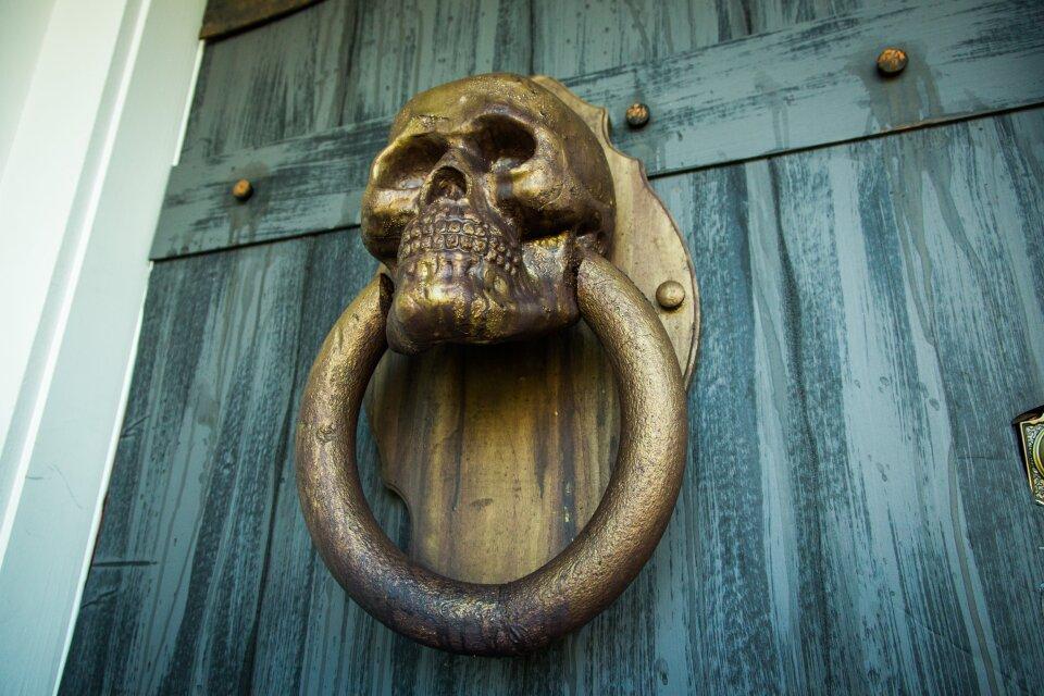 DIY Skull Door Knocker