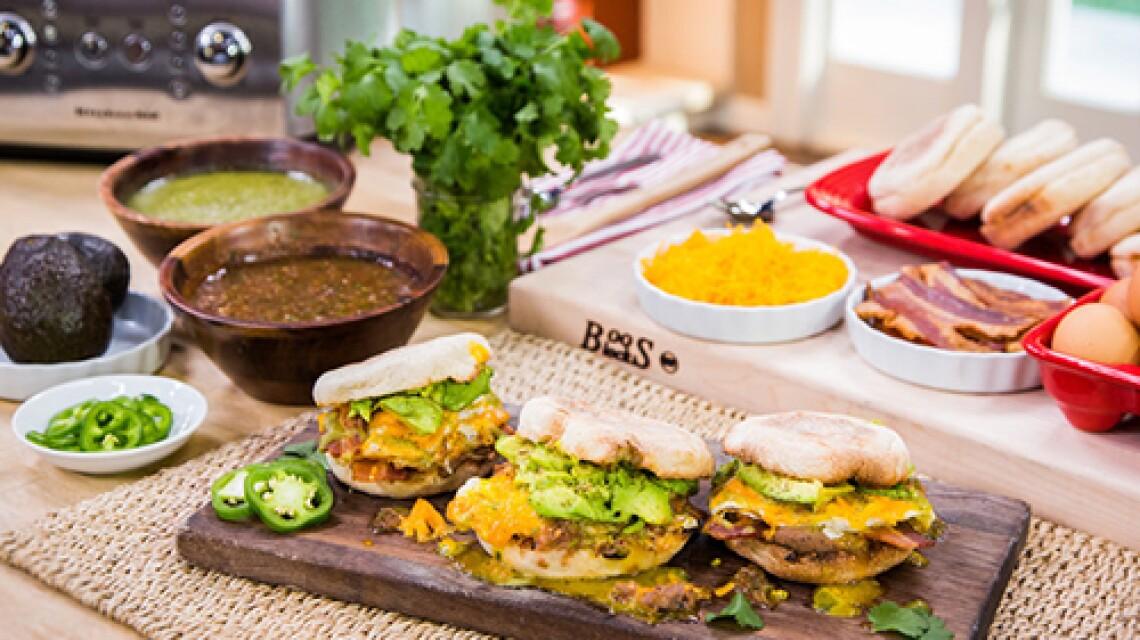 Cristina Cooks: Huevos Rancheros Sandwiches