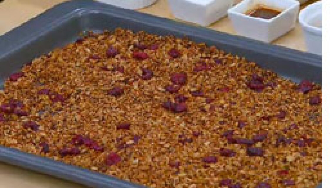 Sophie Uliano's Super Cranberry Orange Granola