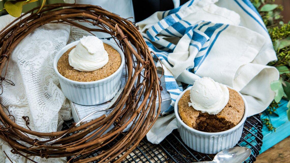 Maple-Whiskey Pudding Cakes