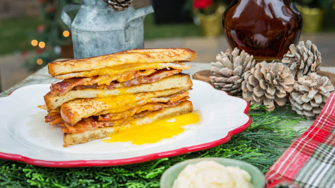Potash Twins - Sweet and Savory French Toast Breakfast Sandwich