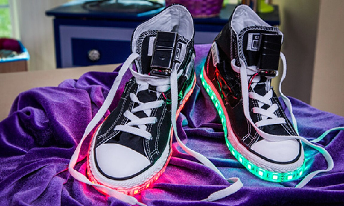 DIY Light Up Shoes with Tanya Memme