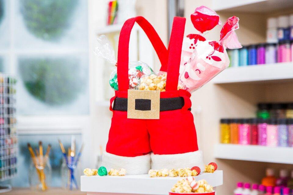 DIY Santa Pants