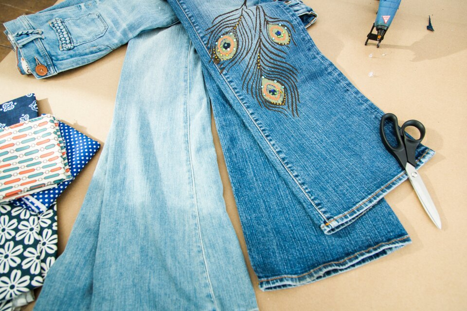 DIY Flare Jeans