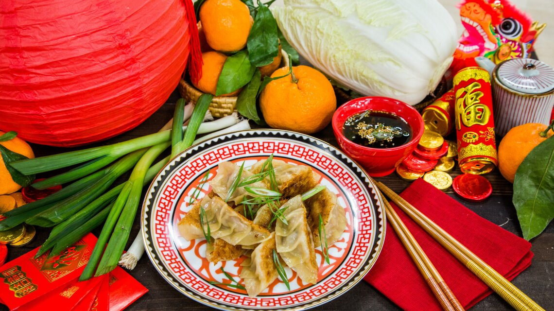 Chinese New Year Potstickers