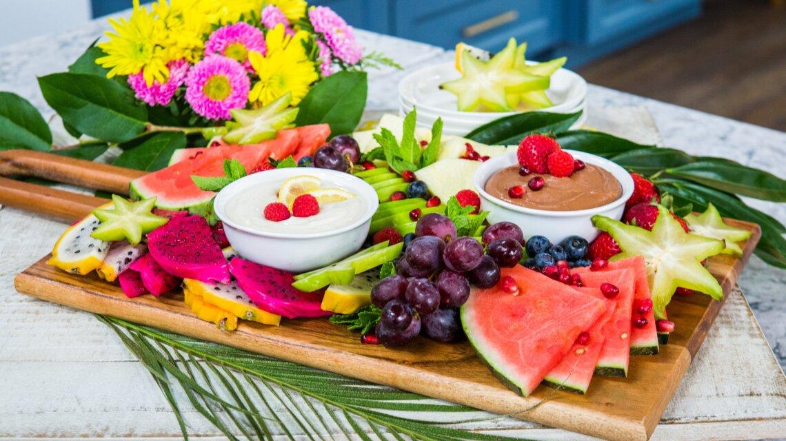 Charfruiterie & Fruit Dips