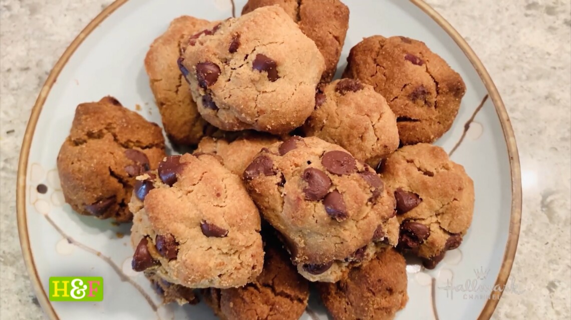 At Home With Our Family - Debbie's Bacon Peanut Butter Cookies