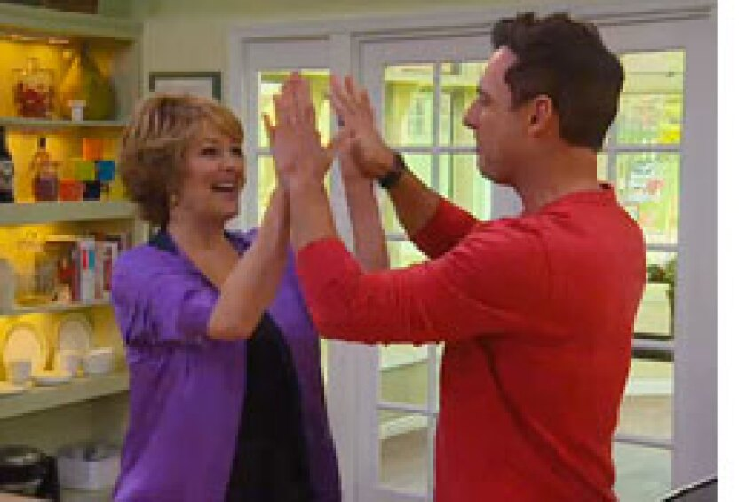 Today on Home & Family: Nancy Travis
