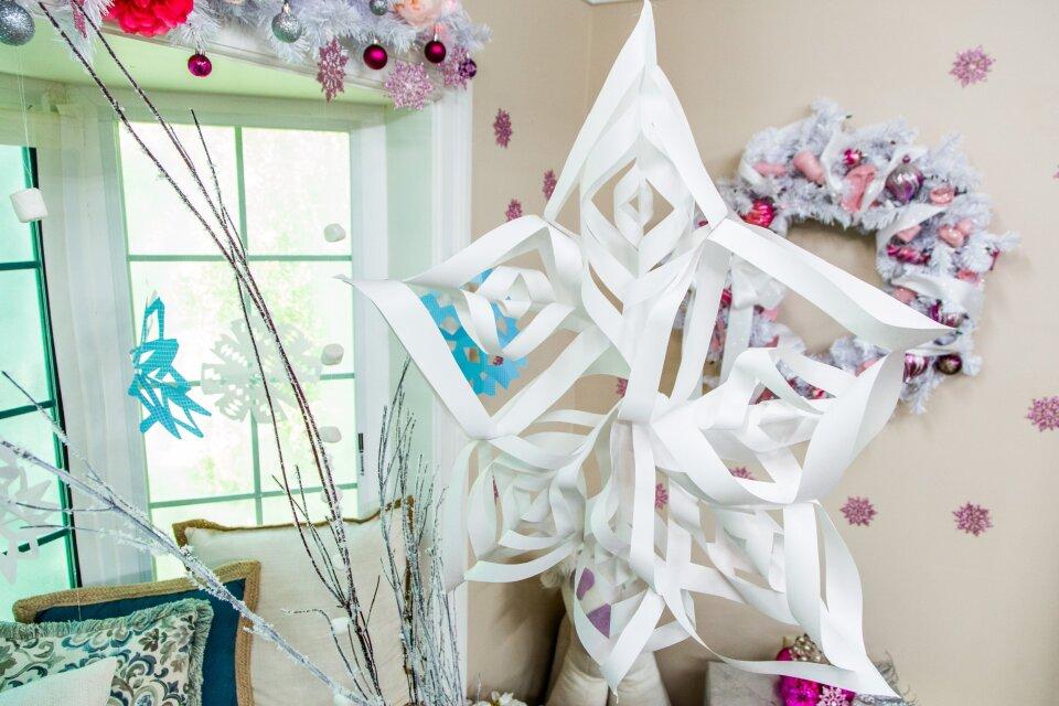 Tanya's DIY Christmas Wonderland Photo Backdrop