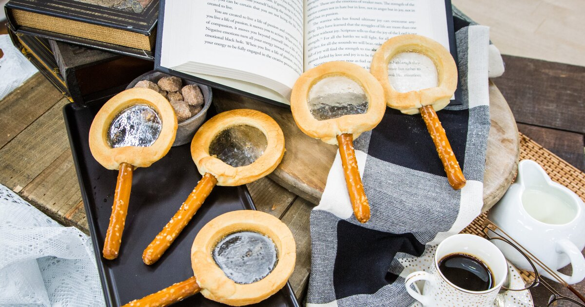 Recipes Diy Magnifying Glass Cookies