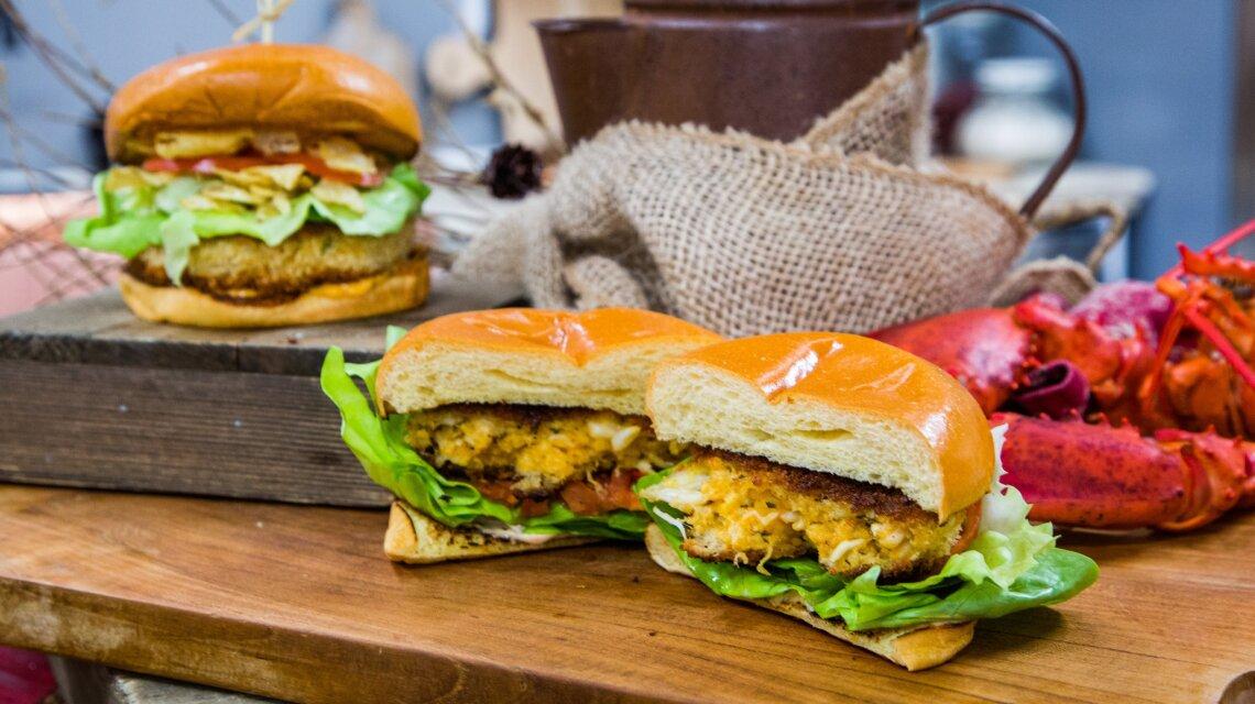 Andrew Gruel - Lobster Crunch Burger